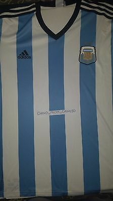 Adidas Soccer Argentina Home Jersey 2014 (White Back)