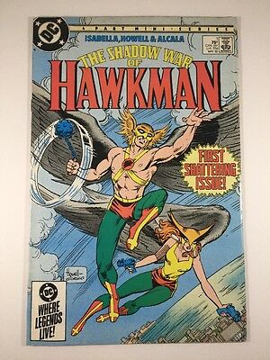The Shadow War of Hawkman #1 (May 1985, DC)