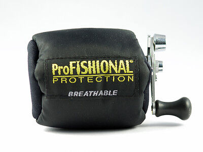 NEW 09. Overhead Reel Cover - Size 1 - Breathable Fishing Rod