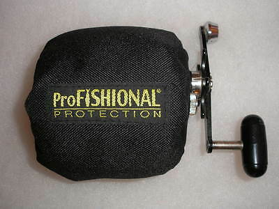 NEW 11. Overhead Reel Cover - Size 2 - Padded Fishing Rod