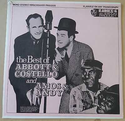 The Best Of Abbott And Costello and Amos & Andy  - Vinyl Record