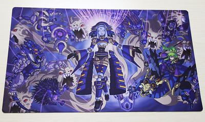 D360 FREE MAT BAG El Shaddoll Construct Custom Made Yugioh TCG CCG Playmat
