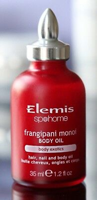 Elemis Exotic Frangipani Monoi Body Oil 35ml BN  ** Quick Dispatch **