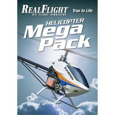 RealFlight 6 and Above Helicopter Mega Pack by Great Planes GPMZ4162