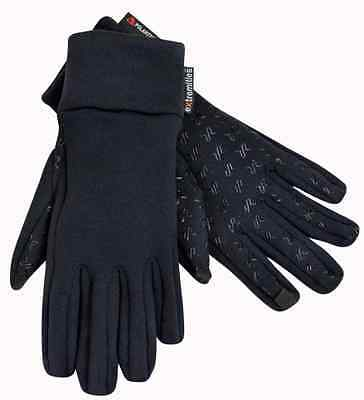 Extremities Sticky Power Stretch Thermal Gloves - Black POLARTEC TOUCHSCREEN