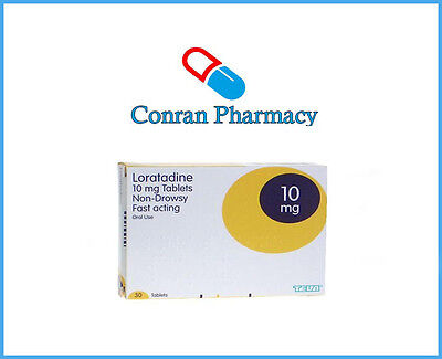 Loratadine Hayfever and Allergy Relief 10mg - 6 months supply non-drowsy