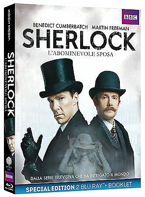 Sherlock - L'abominevole Sposa (2 Blu-Ray + Booklet) Dalla Serie Tv Sherlock