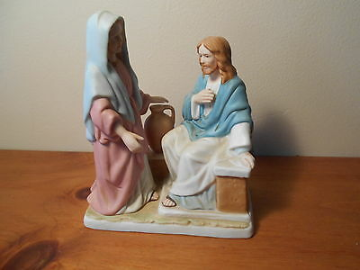 Porcelain Living Water figurine Greatest Stories Ever Vintage Home Interiors