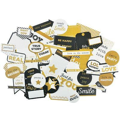 A Touch Of Gold Diecuts Kaisercraft Collectables Cardstock Die Cuts