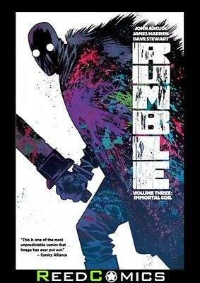 RUMBLE VOLUME 3 IMMORTAL COIL GRAPHIC NOVEL New Paperback Collects #11-15