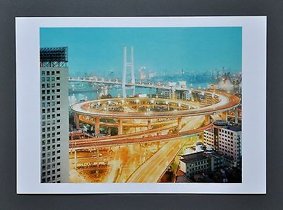 Peter Bialobrzeski Ltd. Ed. Photo 17x24 Nanpu Brücke Shanghai 2001 Bridge China