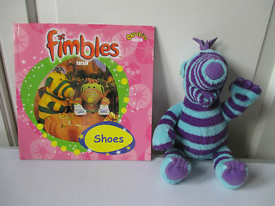 NEW BBC PB Book Shoes The Fimbles Florrie Soft Toy Excellent Clean Condition