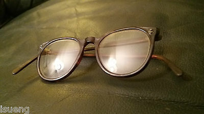 Vintage Spectacles Antique reading Glasses Retro NHS . Tortoise Shell Frame