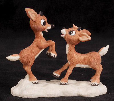 2001 Enesco Figurine You Can Be My Buddy Rudolph Island Misfit Toys 875376
