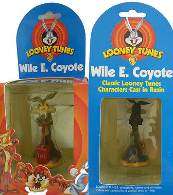 Looney Tunes Boxed Figurine of WILE E COYOTE. Brand New In Box.