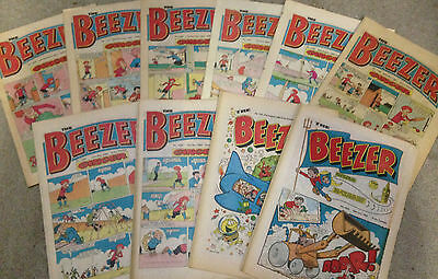 1980's THE BEEZER Comics  ****Deals Available for Mulitple Purchases****