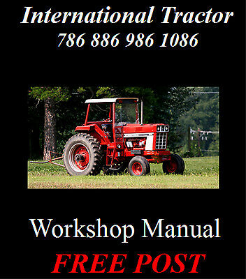 International 786, 886, 986, 1086 Workshop Service Repair Manual On Cd