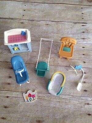 Fisher Price Loving Family Accessories Baby Nursery Lot