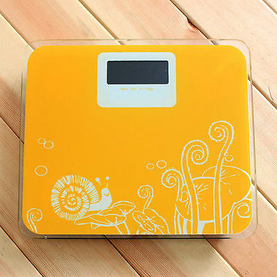 Digital Light Glass Weight Measurement Body Scale Health Scale Max 180kg 396lb