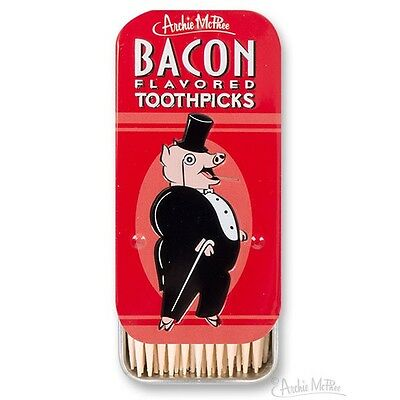 Bacon Flavored Toothpicks in Collectible Tin!