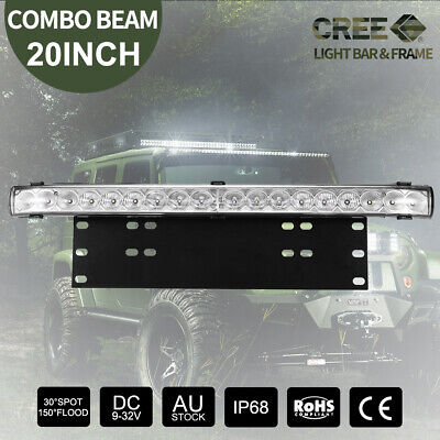 23 inch CREE LED Light Bar 12V 5D Len Spot Flood Offroad 4x4 Work Driving Bars