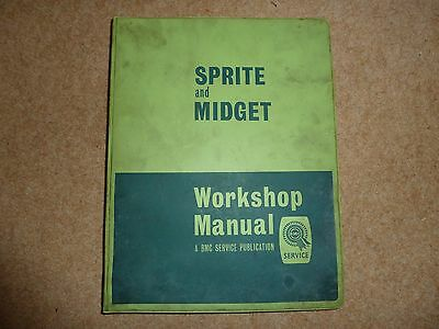 Sprite and Midget workshop manual part no:AKD 4021 E