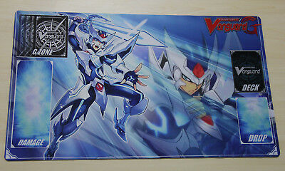 E418 FREE MAT BAG Blaster Blade Ahmes Cardfight Vanguard G Custom Playmat Rubber