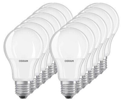 12 x Osram LED BASE A75 E27 10.5W 2700K Warmweiß LED Lampe 75W Glühbirne