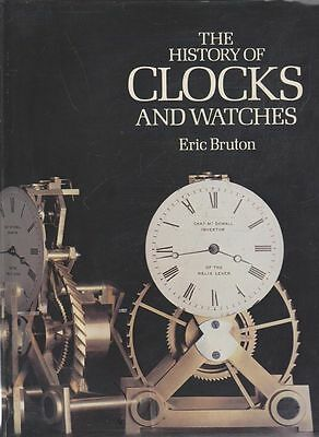 ERIC BRUTON The History of Clocks and Watches 1979 HC Book