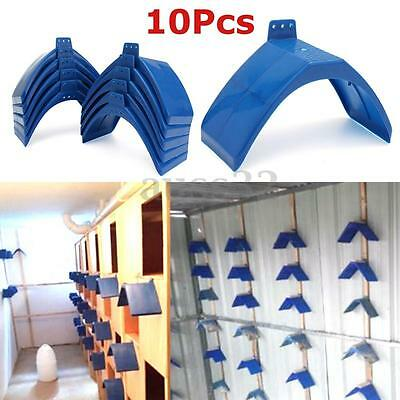 10x Pigeon Dove Grill Rest Stand Frame Dwelling Perches Roost Bird Supplies