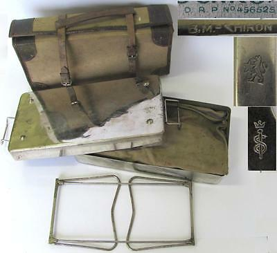 Wwii German Wehrmacht Tropical Dak Field Surgical Medical Set – Rare