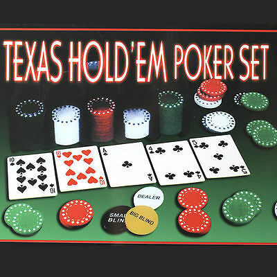 200PCS Portable Poker Chip Set Steel Case Two Card Set Game Family noo