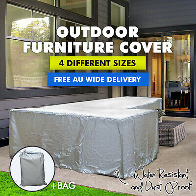 1.4 x 1.4m Water Resistant Garden Outdoor Furniture Rectangular Seat Cover