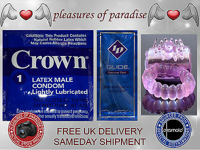 CROWN SKINLESS SKIN CONDOMS - Thinnest Latex Condom - SEE VIDEO LINK IN LISTING!