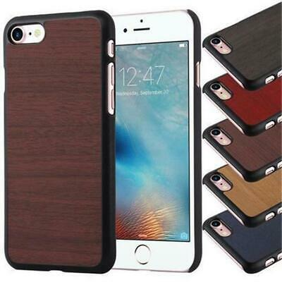 Hard Cover Vinyl Bumper for APPLE SAMSUNG SONY WOODEN STYLE Hybrid Case Vintage