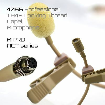 UltraDisk Lapel Lavalier Microphone for MIPRO ACT Wireless Bodypack Transmitters