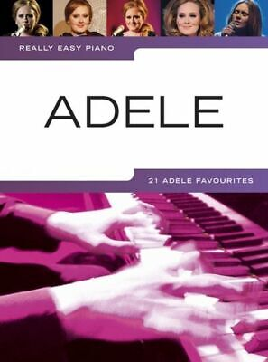 Really Easy Piano, 27 Adele Favourites, Sheet Music Book, Piano, Songbook