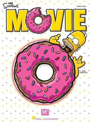 The Simpsons Movie Piano Solo Sheet Music Soundtrack Hans Zimmer Gift Play