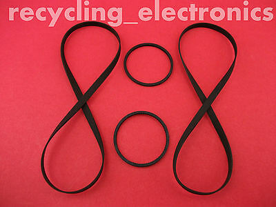 SONY TC-WR565, TCWR565 Drive Belt Kit For Cassette Deck (4 Belts)