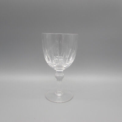 SET OF FOUR - Stuart Crystal HAMPSHIRE Water Goblets