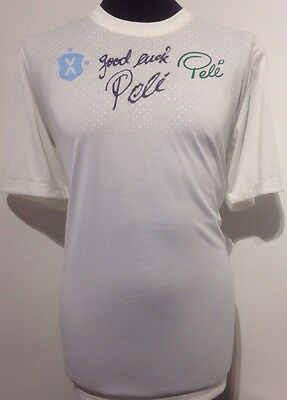 Brazil Pele Brand Clothing Signed By Pele With Letter Of Guarantee