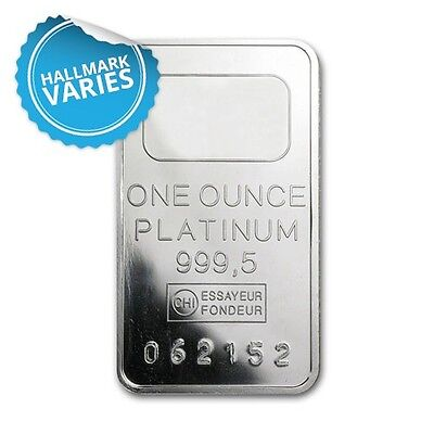 1 oz Platinum Bar