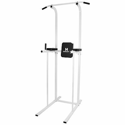 Power Tower Ab Dips Appareil Traction/traction Bar Maison Gym Knee/jambe