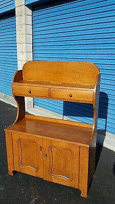 conant ball CO BOSTON furniture 629.WB MAPLE HUTCH