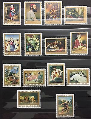Ungheria Magyar Lot Of 14 Stamps  Unused Mnh** Spl Rare