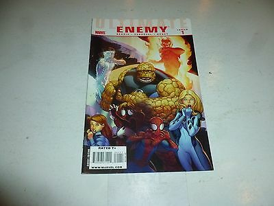 ULTIMATE ENEMY Comic - No 1 - 03/2010 - Marvel Comic