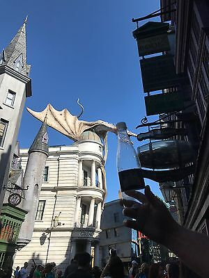 Gilly Water Bottle, From The Wizzarding World Of Harry Potter, Universal Studios