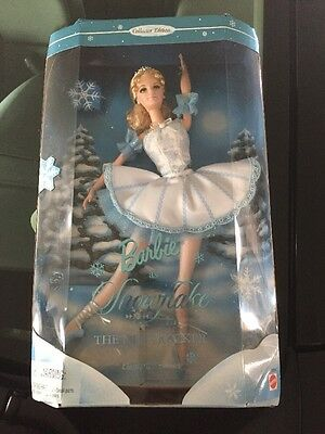 """Barbie As Snowflake in The Nutcracker 12"""" Collector Doll"""