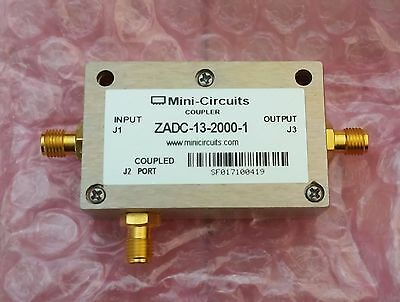 Mini-Circuits Coaxial RF Directional Coupler ZADC-13-2000-1 13dB SMA 50 Ohm -NEW