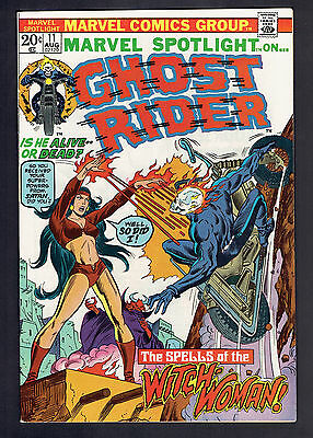 1973 Marvel Spotlight #11 VF+ Ghost Rider